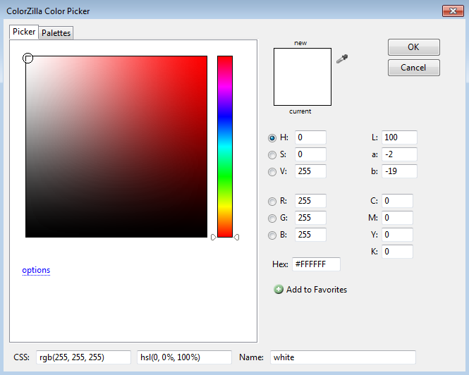 Colorzilla sebagai addon para pengembang web