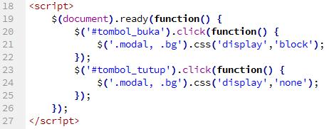 Membuat LightBox Sederhana dengan jQuery dan CSS