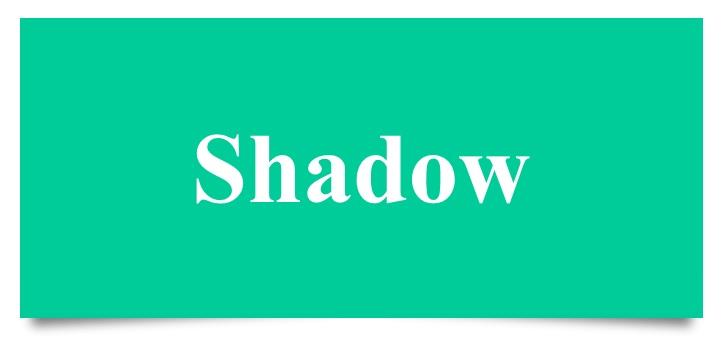 Membuat Effek Box Shadow Pada CSS3