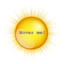 Animasi Hover Matahari