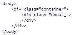 Membuat Donat Dengan CSS