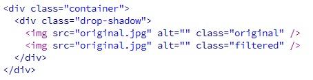 Membuat Efek Filter Drop Shadow Pada CSS