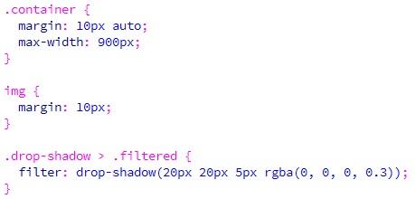 Membuat Efek Filter Drop Shadow Pada CSS-2