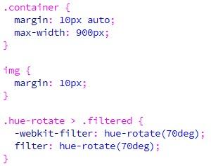 Membuat Efek Filter Hue-rotate Pada CSS