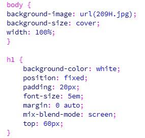 Menggunakan Mix-Blend-Mode Dengan Mode Screen