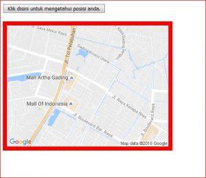 Cara Menampilkan Lokasi Real Time Menggunakan Geolocation