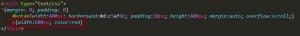 Menggunakan (overflow:scroll) dengan HTML dan CSS