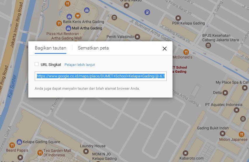 Cara Menampilkan Google Maps Di Halaman Website