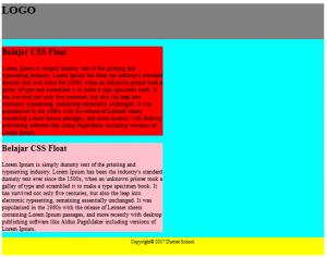 Cara Menggunakan Property Float Pada CSS