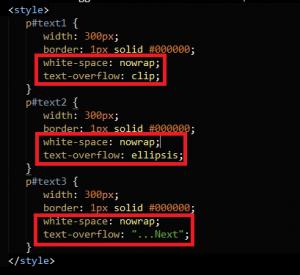 Cara menggunakan text-overflow pada css 3