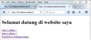 Cara Membuat Link Dalam Sebuah Website