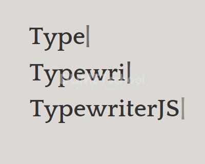Cara Membuat Typewriter Effect dengan Typewriter.js