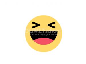 Cara Membuat Emoji Tertawa Bergerak HTML CSS