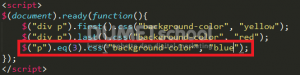 Cara Menggunakan Metode Filtering pada jQuery