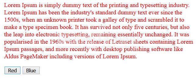 Cara Merubah Warna Font Menggunakan Javascript