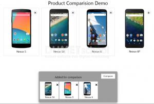 Membuat Layout Product Dengan Plugin jQuery Product Comparision