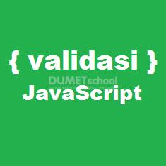 Cara Membuat Validasi Input Form Hanya Angka Dengan JavaScript