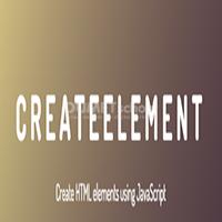 Cara Menggunakan Fungsi createElement Javascript