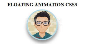 Cara Membuat Floating Animation HTML CSS