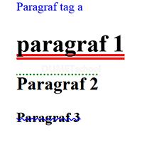 Macam-Macam Fungsi Text Decotarion pada CSS3