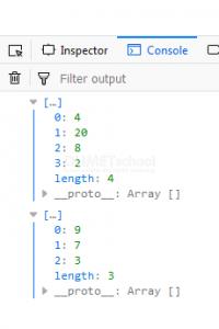 Cara Mencari Nilai Genap dan Ganjil Pada array Javascript
