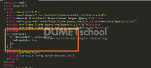 Membuat Accordion Collapse Content Dengan jQuery UI