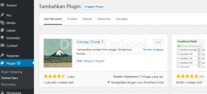 Cara Menambahkan Plugin Contact Form 7 di WordPress