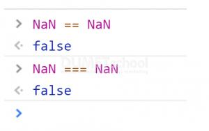 Penjelasan NaN di dalam Javascript
