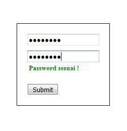 Cara Membuat Validasi Perulangan Password Dengan jQuery