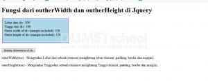 fungsi dari outherWidth(true) dan outherHeight(true) di Jquery