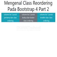 Mengenal Class Reordering Pada Bootstrap 4 Part 2