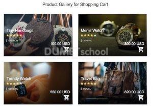 Membuat Galeri Produk Responsif untuk Keranjang Belanja