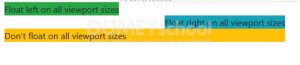 Mengenal Class Float Pada Bootstrap 4