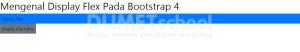 Mengenal Display Flex Pada Bootstrap 4 Part1