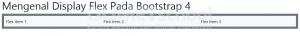Mengenal Display Flex Pada Bootstrap 4 Part4