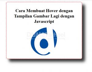 cara membuat hover dengan tampilan gambar lagi dengan javascript