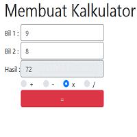 Cara Membuat Kalkulator Sederhana Menggunakan Javascript Part1