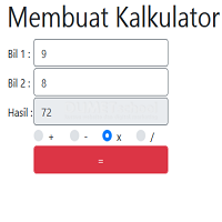 Cara Membuat Kalkulator Sederhana Menggunakan Javascript Part2