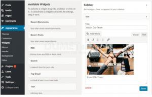 Cara Menambahkan Gambar di Sidebar WordPress