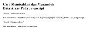 Cara memisahkan-dan-menambah-data-array-pada-javascript