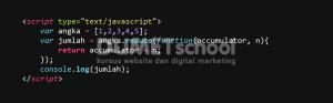 1-Cara Menggunakan Metode Reduce di Javascript