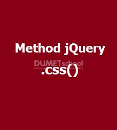 Cara Memberikan Style Pada Element HTML Otomatis Dari jQuery
