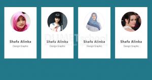 1-Cara desain profile card dengan html css