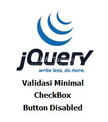 Cara Membuat Validasi Minimal Checkbox Dengan Jquery