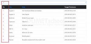 cara menampilkan banyak data dari select option Ajax
