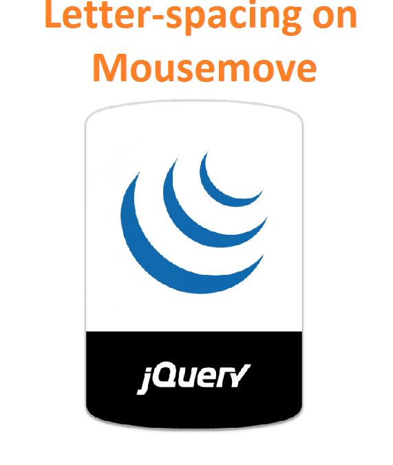 Cara Menggunakan Letter Spacing Event Mousemove JQuery