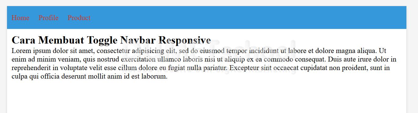 Navbar Design: Cara-Membuat-Toggle-Navbar-Responsive