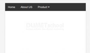 cara membuat mega menu HTML CSS