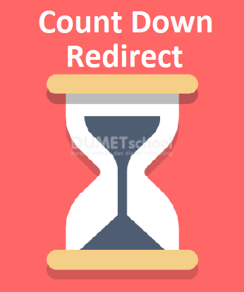 Cara Membuat Count Down Redirect Halaman
