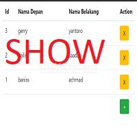 Cara Membuat Live Table Menampilkan data dengan Ajax
